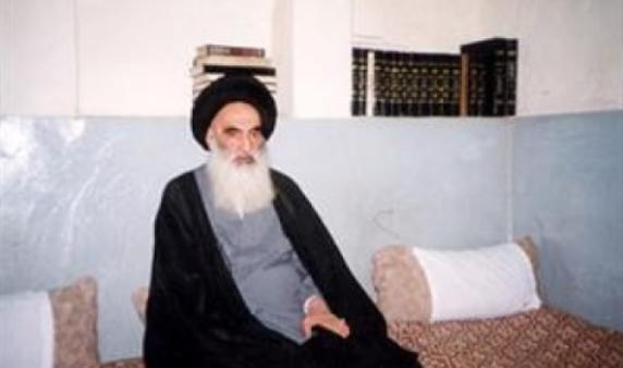 المرجعية الدينية العليا تدعو العراقيين الى المشاركة الواسعة في التظاهرات وطرد المخربين من صفوفهم