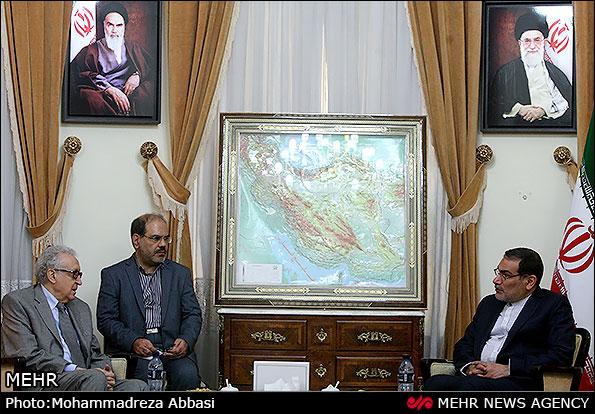 امين عام المجلس الاعلى القومي الايراني ينتقد الدول التي تمول الارهابيين في سوريا بالسلاح