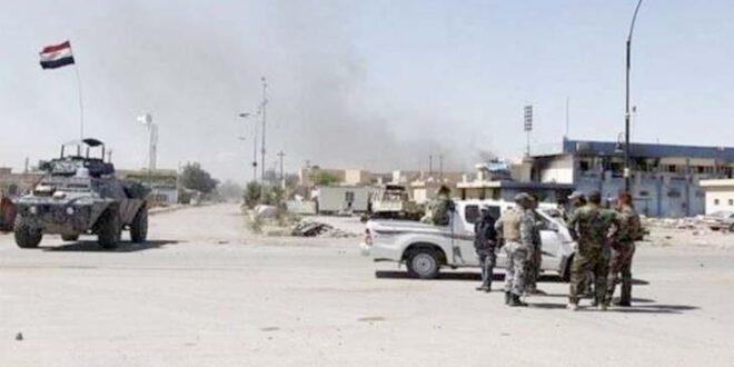 استشهاد خمسة من منتسبي الشرطة الاتحادية في هجوم ارهابي نفذه عناصر داعش الارهابي في كركوك