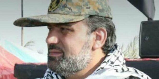 """اغتيال قائد قوات التعبئة """" البسيج """" في مدينة دار خوين في خوزستان"""