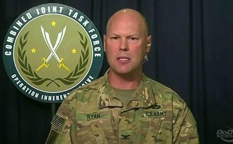 المتحدث باسم التحالف الامريكي في العراق يعلن البقاء في العراق متجاهلا ضرورة موافقة الحكومة