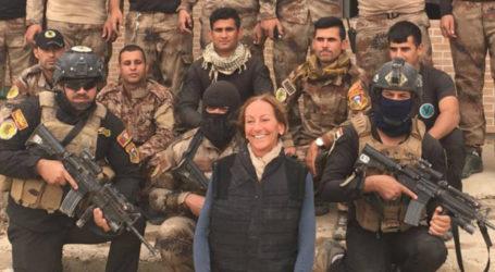 وفاة الصحفية الفرنسية فيرونيك روبير بعد معانتها من اصابات بليغة نتيجة انفجار لغم في الموصل