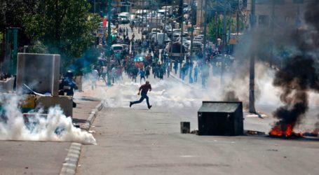 اصابة اكثر من  50 فلسطينيا برصاص الجيش الاسرائيلي في مواجهات دعما لمطالب الاسرى