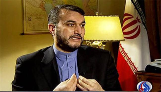 """عبد اللهيان : مشروع """"صفقة القرن"""" لن يحقق اي انجاز للكيان الصهيوني وهو  ذاته مشروع """" الشرق الاوسط الجديد """""""