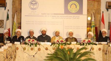 مؤتمر علماء المقاومة .. يؤكد حتمية انتصار الوعد الالهي على وعد بلفور