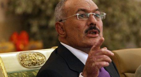 الرئيس اليمني السابق صالح يصف السعودية بالعدو التاريخي للشعب اليمني ويرفض القرار الاممي  2216