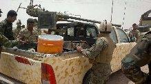 """قوات الجيش بمشاركة قوات العصائب وكتائب حزب الله تقتل اكثر من 45 ارهابيا من داعش وحلفائهم في """" الصقلاوية """" وتطهر اكثر من نصفها وتضبط اليات واسلحة"""