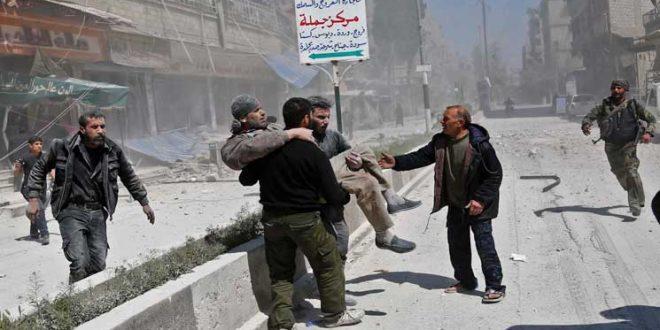 مجلس الامن يوافق على الهدنة في الغوطة الشرقية لمدة 30 يوما وامريكا تنجح في انقاذ الجماعات المسلحة المحاصرة فيها