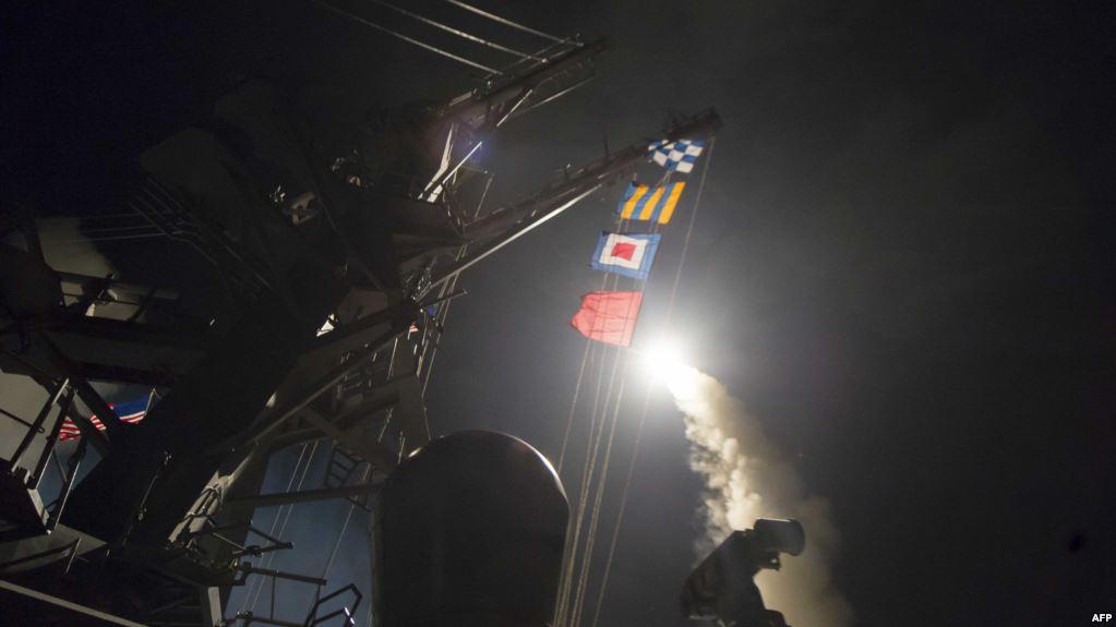 تقرير اوروبي : السعودية تعهدت بدفع تكاليف الهجوم الصاروخي على سوريا واية عمليات عسكرية امريكية مقبلة