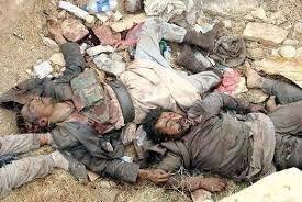 كتائب الامام علي في الحشد الشعبي تقتل 20 داعشيا وتاسر 3 اخرين قرب بيجي
