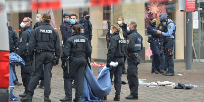 اربعة قتلى  و15 جريحا في عملية دعس في مدينة ترير غربي ألمانيا والفاعل الماني
