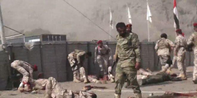 صواريخ الجيش اليمني واللجان الشعبية تقتل اكثر من 80 من عناصر مرتزقة الرئيس المخلوع هادي