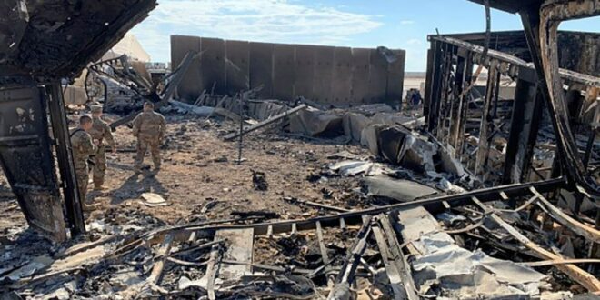 """البنتاغون يقرّ بإصابات جديدة في صفوف قواته في """" عين الاسد""""  ويكشف عن اصابة 34 عسكريا امريكيا اخرين في الهجوم الصاروخي الايراني"""