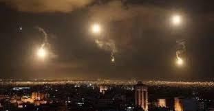 الدفاعات السورية تتصدى لعدوان اسرائيلي استهدف مواقع في جيل المانع في القنيطرة السورية