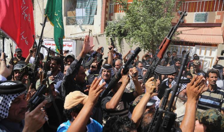 """البدء بوضع اليات تشكيل """" الحرس الوطني """" والتي ستضم الصحوات وقوات الحشد الشعبي في العراق"""