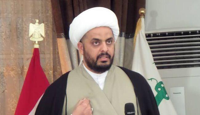 الخزعلي يهاجم وزير الخارجية فؤاد حسين المفاوض في واشنطن : تصريحاته تسويق لمبررات الامريكان لابقاء قواتهم في العراق