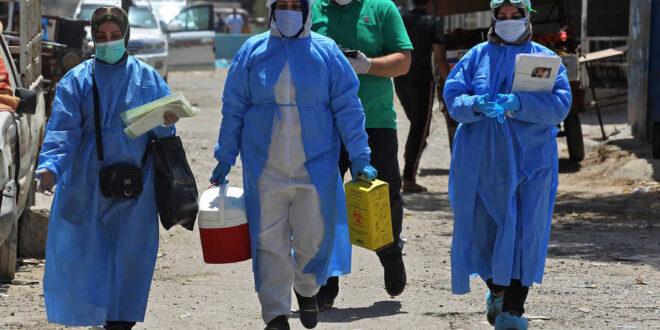 العراق يسجل ارتفاعا متزايدا في عدد الاصابات بفيروس الكورونا لتصل الى 1252 اصابة و 33 حالة وفاة