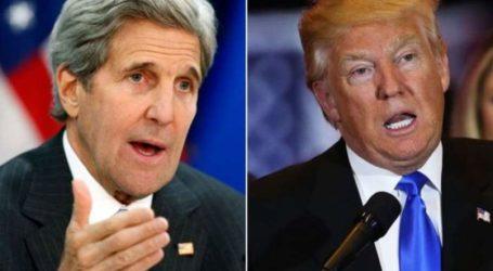 وزير الخارجية الامريكي السابق كيري : قرار ترامب ضد الاتفاق النووي قرار خاطئ وخطير يعبر عن الانانية والغرور
