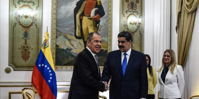 الرئيس الفنزويلي مادورو :  روسيا تلعب دورا مهما في بناء عالم جديد قائم على الاحترام.