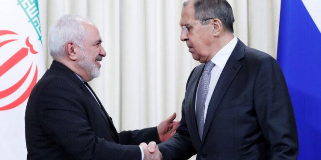 ظريف ولافروف : ايران التزمت بمواقفها في الاتفاق النووي وعلى الولايات المتحدة العودة الى التزاماتها السابقة في الاتفاق