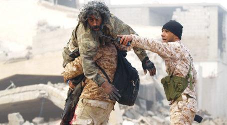 """ارتفاع عدد قتلى الهجوم على  """" قاعدة براك الشاطئ """" الجوية جنوب ليبيا الى  141 شخصا"""