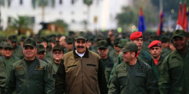 """احباط محاولة انقلابية في فنزويلا كانت تخطط لاغتيال """" الرئيس مادورو """" والسيطرة على الحكم"""