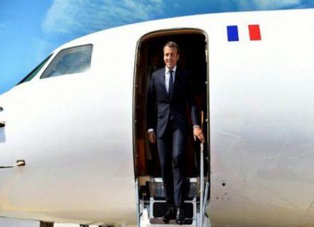 ماكرون يصل بغداد : سنطلق بالتعاون مع الأمم المتحدة مبادرة لدعم مسيرة السيادة في العراق