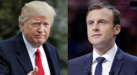 البيت الابيض يعلن موافقة الرئيس الفرنسي في الانخراط مع الولايات المتحدة لمواجهة ايران وحزب الله
