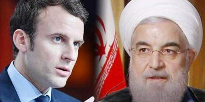 الرئيس ماكرون يعلن سعيه لاجراء سلسلة اتصالات مع نظرائه الايراني والروسي والامريكي لمنع التصعيد في الشرق الاوسط