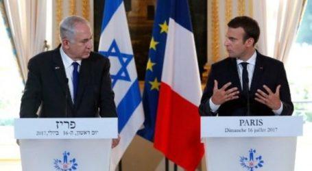 الرئيس الفرنسي في مباحثاته مع نتنياهو يجدد رفض بلاده اعتراف ترامب بالقدس عاصمة لاسرائيل