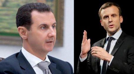 الرئيس الفرنسي ماكرون : لا ارى أي بديل شرعي للرئيس السوري بشار الأسد .. ورحيله ليس شرطا لحل الصراع