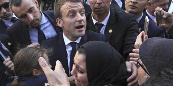 غضب رسمي وشعبي واسع في الجزائر بعد تصريحات الرئيس الفرنسي ماكرون الذي نفى وجود امة جزائرية قبل الاستعمار