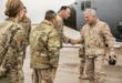 قائد القيادة الوسطى في القوات الأميركية الجنرال ماكينزي يتفقذ ثلاث مواقع غربي السعودية لاتستخدامها في اية حرب قادمة مع ايران
