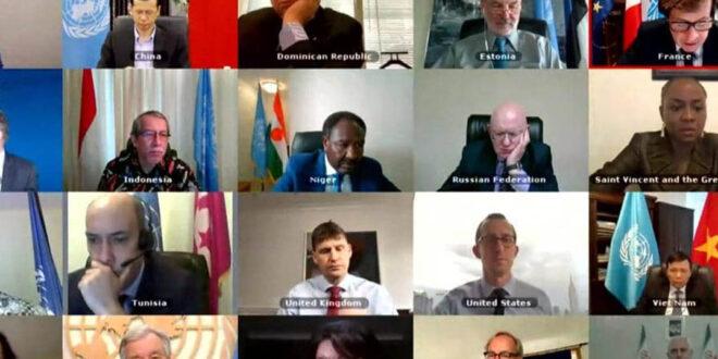 مجلس الأمن الدولي يصوت ضد مشروع القرار الروسي حول مناطق عبور المساعدات الإنسانية إلى سوريا وذلك بضغوط اميركية وبريطانية وفرنسية