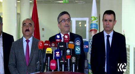 محافظ السليمانية يعلن استقالته في مؤتمر صحفي احتجاجا علي استئثار البرزاني بالسلطة