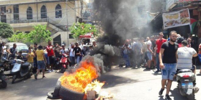"""يوم """"غضب"""" بمخيمات اللاجئين الفلسطينيين في لبنان رفضًا لـ""""خطة الضم الاسرائيلية"""""""