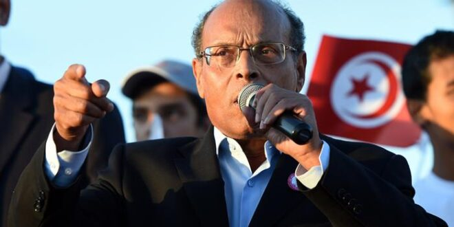 الرئيس التونسي الاسبق المرزوقي : ما يحدث في تونس يشكل انقلابا