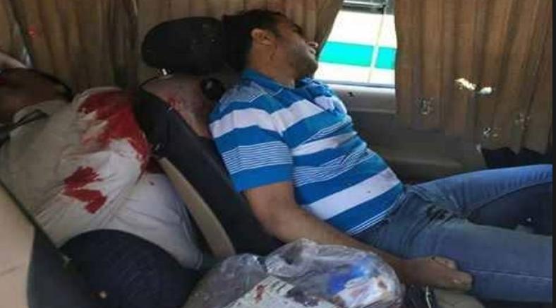 مقتل 3 قضاة مصريين واصابة 3 اخرون في هجوم شنته على سيارتهم جماعات وهابية تكفيرية شمال سيناء