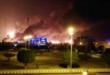 """السعودية تخسر خمسة ملايين برميل يوميا من صادراتها النفطية بعد قصف الطيران المسير اليمني """" مصفاة ارامكو""""  في بقيق و """"حقل نفط هجرة خريص """""""