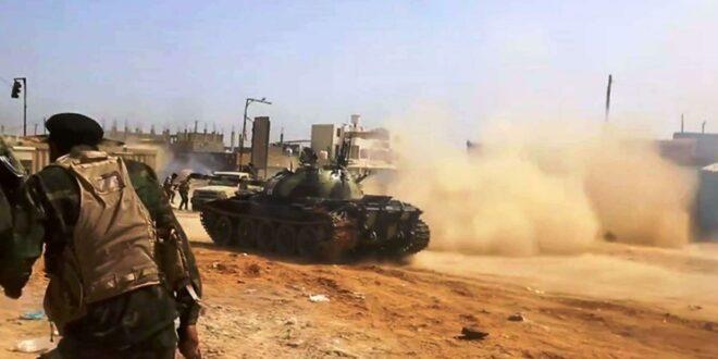الحكومة الليبية : نشعر ان العالم تخلى عن الشعب الليبي لمصلحة قوات حفتر