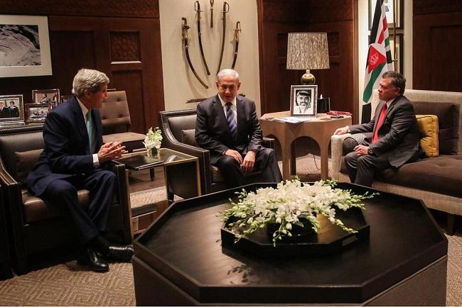 الملك الاردني يستقبل نتيناهو في عمان ..!! وتعليقات التواصل الاجتماعي تصف الملك بالخائن للاقصى ولفلسطين