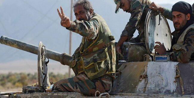 لاول مرة ..سوريا تشهد مناورات للجيش السوري مع القوات الايرانية والروسية غرب دير الزور