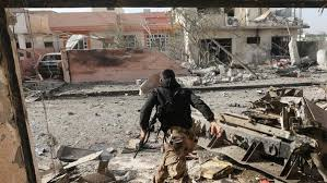 قوات جهاز مكافحة الارهاب تقتحم حي القدس شرق الموصل