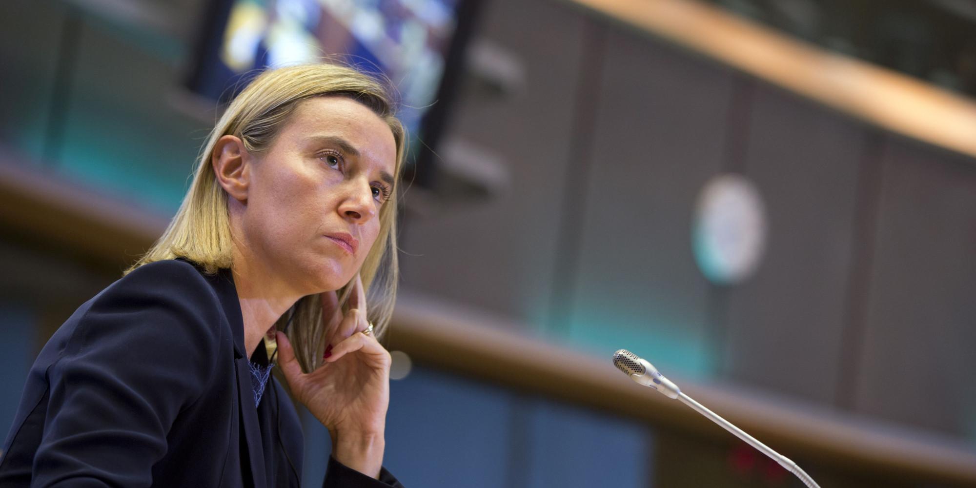 موغريني : الاتحاد الاوروبي سيبذل كل الجهود الممكنة للحفاظ على الاتفاق النووي