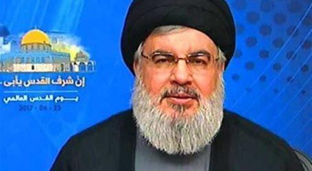السيد نصر الله : السعودية اضعف من ان تشن حربا على ايران وسلاح الجو الاسرائيلي يقصف في اليمن