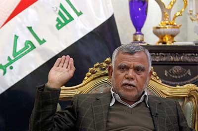 رئيس تحالف الفتح هادي العامري : الرد المناسب على استخفاف الولايات المتحدة بالعراق هو اخراج قواتها من البلاد