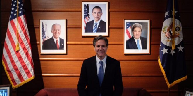 """أنتوني بلينكن مرشح بايدن لوزارة الخارجية الامريكية  .. """"داعم قوي لإسرائيل"""""""