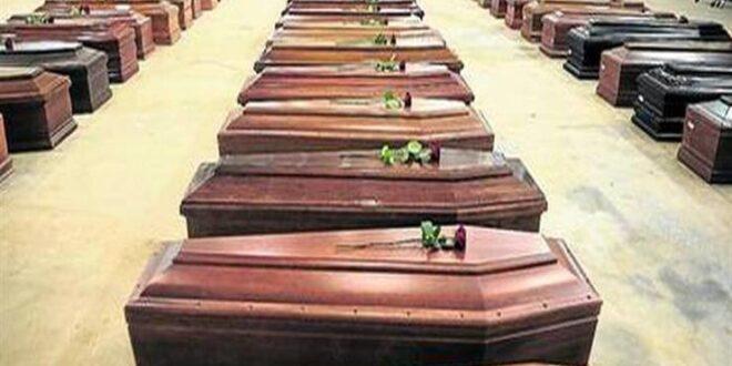 ترتيب الدول التي سجلت اعلى نسبة من الوفيات بجائحة كورونا