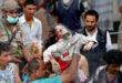 استشهاد عشرة يمنيين بينهم نساء واطفال في غارات طائرات العدوان السعودي الاماراتي