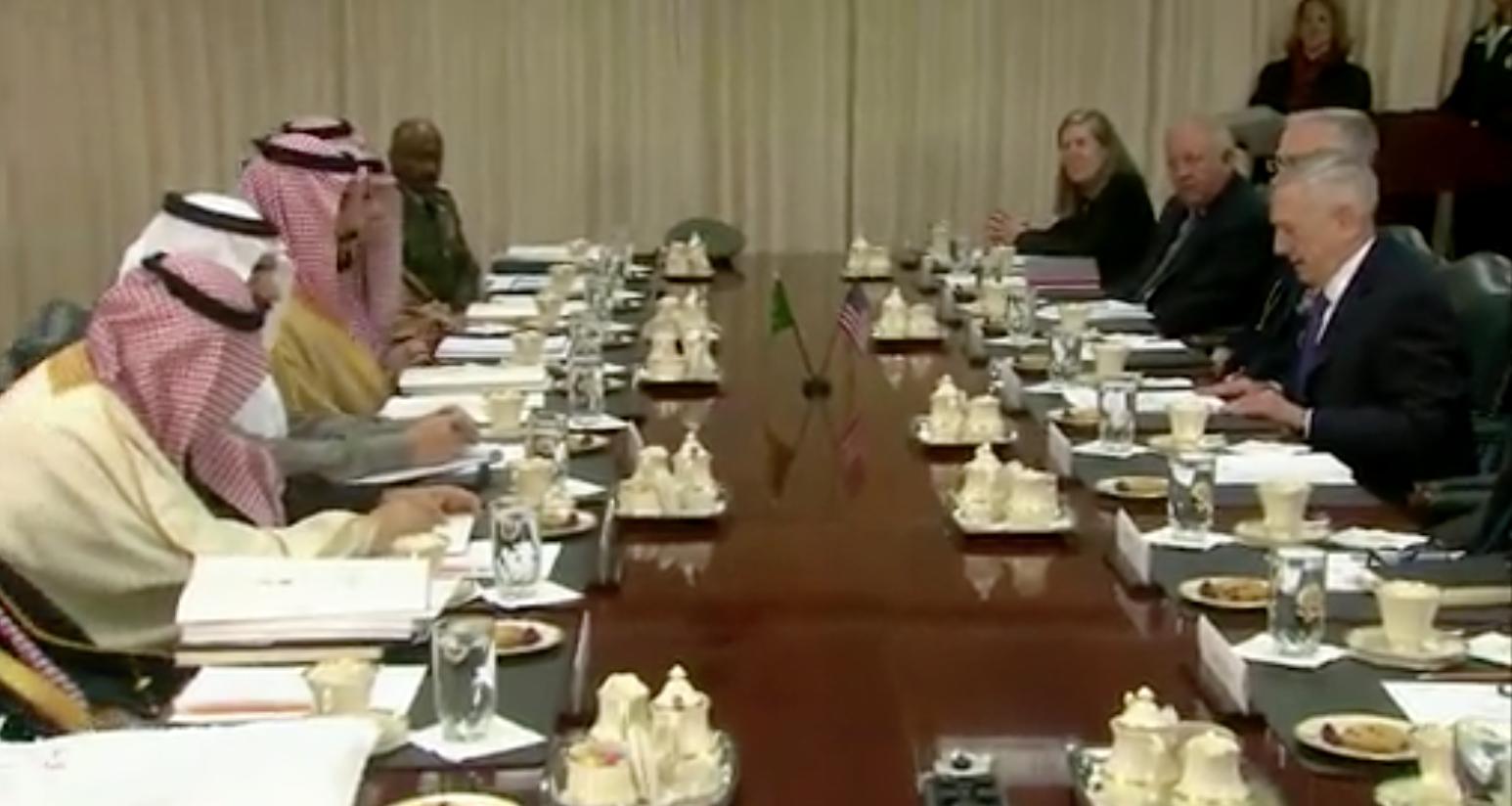 لقاء محمد بن سلمان بوزير الدفاع الامريكي .. السعودية تستعد لمواجهة مفتوحة مع ايران ورهان على الدعم الامريكي